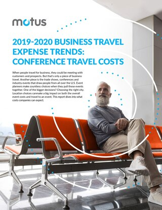 2019 - 2020 Motus Business Travel Expense Trends