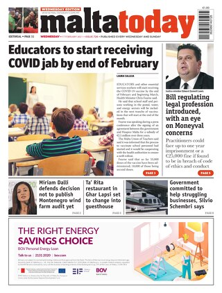 MaltaToday 17 February 2021 MIDWEEK