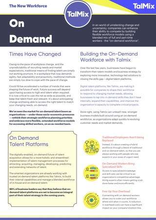 On-Demand Talent