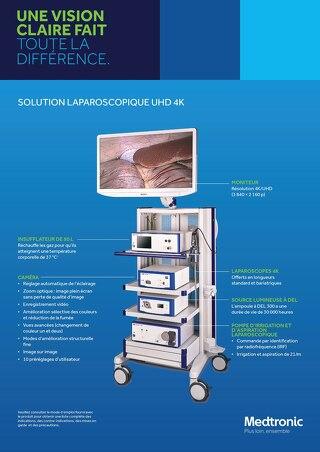 Solution laparoscopique UHD 4K