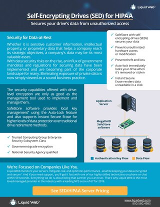 Self-Encrypting Drives for HIPAA Dedicated Hosting - Liquid Web