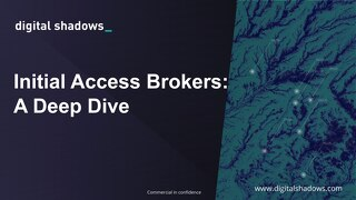 Initial Access Brokers Webinar Slides - February 2021