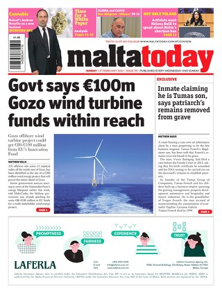 MALTATODAY 21 February 2021