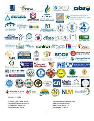 SB 86 AB 86 Schools Response Letter