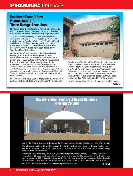 International Door Operator Industry May Jun 2013