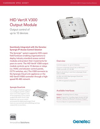 HID V300