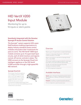HID V200