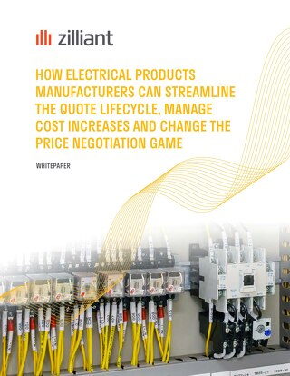 Electrical Products Manufacturers Change the Quote, Cost and Negotiation Game