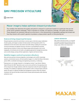 Maxar imagery helps optimize vineyard production