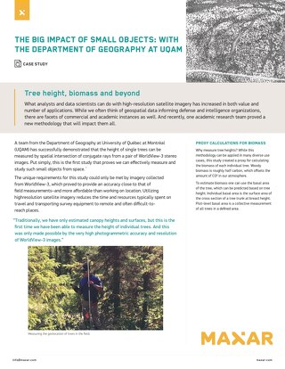 Tree height, biomass and beyond