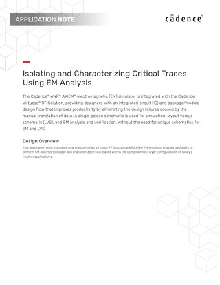 Isolating and Characterizing Critical Traces Using EM Analysis