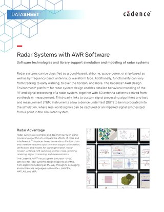 Radar Systems with AWR Software
