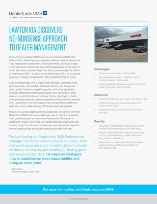 Lawton Kia Case Study