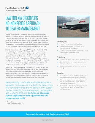 Lawton Kia Case Study