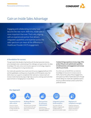 Gain an Inside Sales Advantage