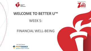 Better U_Week 5 PPT