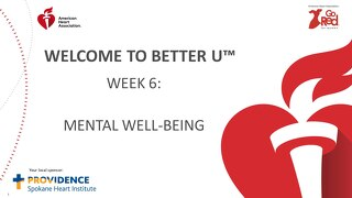Better U_Week 6 PPT