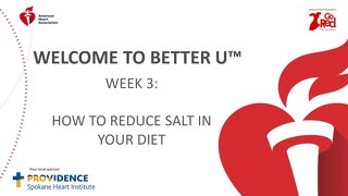Better U_Week 3 PPT