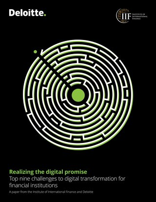 Realizing the digital promise: Top nine challenges to digital transformation for financial institutions