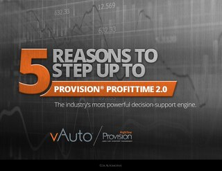 5 Reasons to Step Up to Provision ProfitTime 2.0