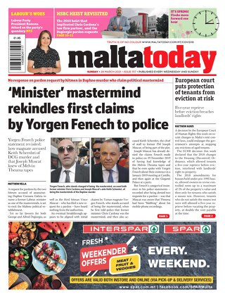 MALTATODAY 28 March 2021