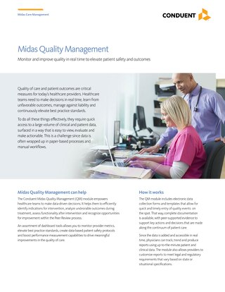 Midas Quality Management