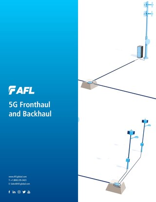 5G Fronthaul Backhaul Brochure