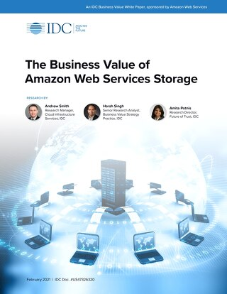 IDC - The Business Value of Amazon Web Services Storage