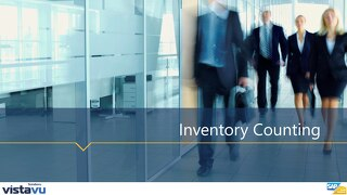Training for Inventory Counting | SAP Business One