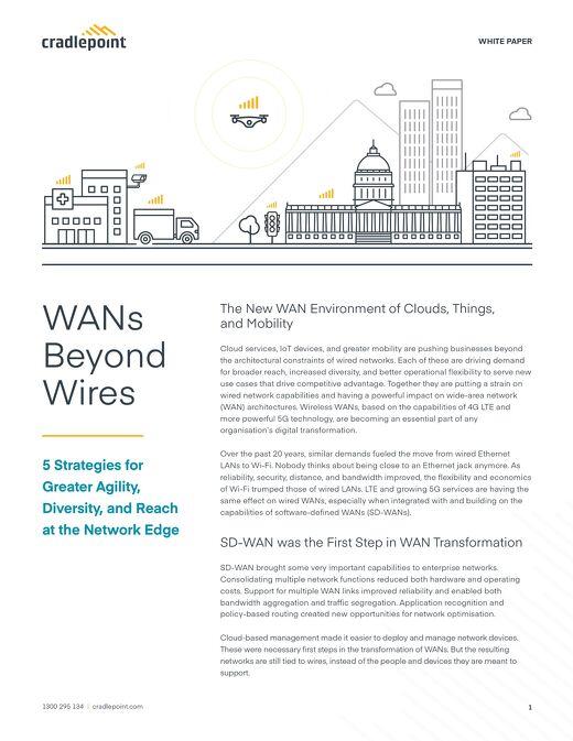 WANs Beyond Wires — APAC