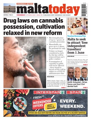 MaltaToday 31 March 2021 MIDWEEK