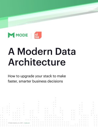 A Modern Data Architecture