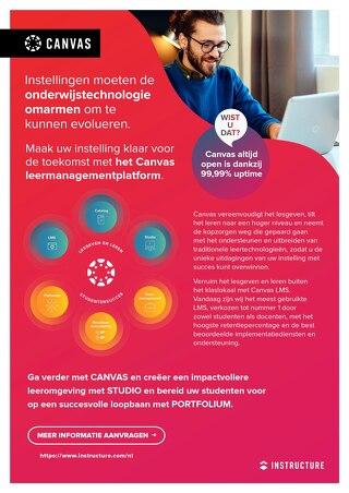 Product Infoblad: Instellingen moeten de onderwijstechnologie omarmen om te kunnen evolueren.
