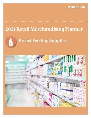 Breastfeeding supplies planogram