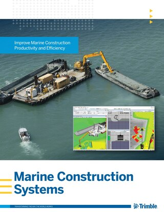 Trimble Marine Construction Systems Brochure