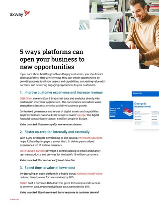 5 ways platforms can open your business to new opportunities