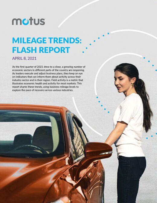 2021 Driving Activity Report - April 8