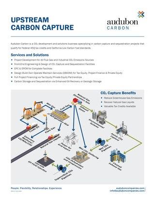 Upstream Carbon Capture