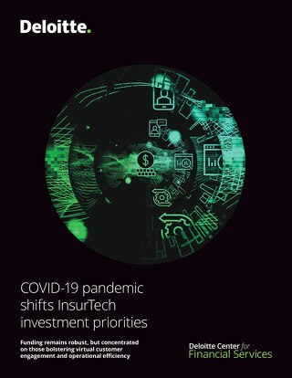 COVID-19 Pandemic Shifts Insurtech Investment Priorities