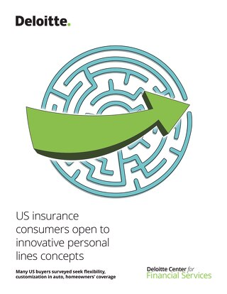 US Insurance Consumers Open To Innovative Personal Lines Concepts