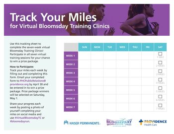 Download to track your miles