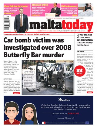 MALTATODAY 14 March 2021