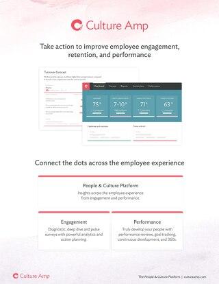 Culture Amp Full Platform Brochure