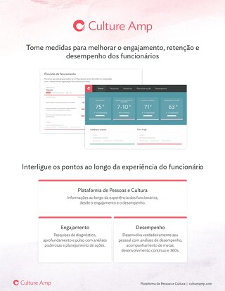 Culture Amp Platform 2019 Portuguese