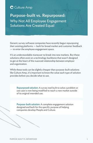 Purpose-built vs. Repurposed Solutions (APAC)