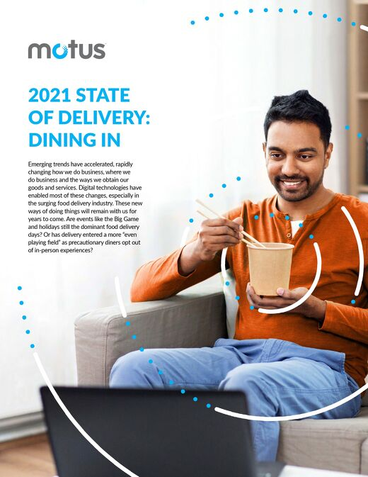 2021 State of Delivery: Dining In Report