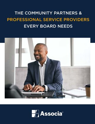 The Community Partners & Professional Service Providers Every Board Needs