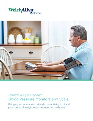 Welch Allyn Home™ blood pressure monitors & scale