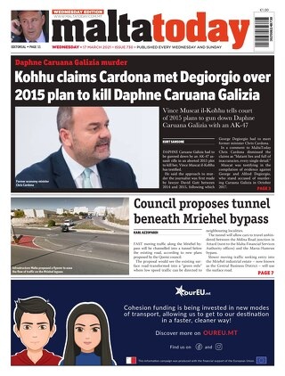 MaltaToday 17 March 2021 MIDWEEK