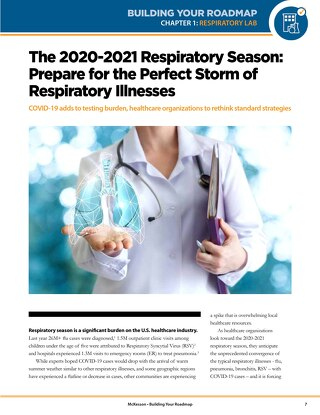 The 2020-2021 respiratory season: Prepare for the perfect storm of respiratory illnesses
